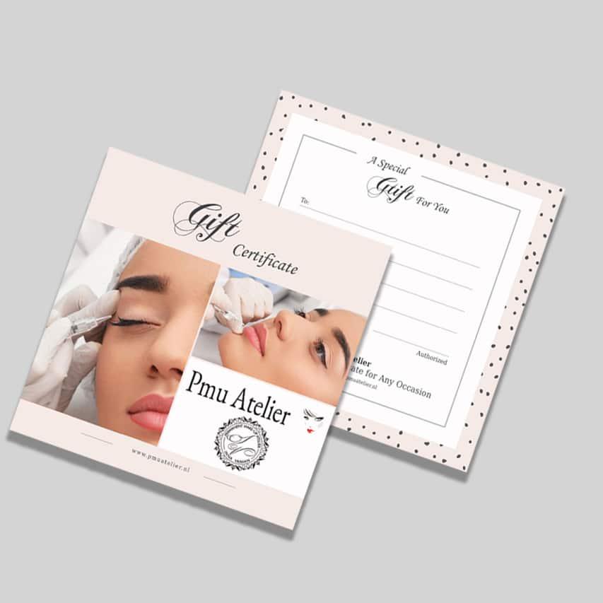 Gift card pmu 02